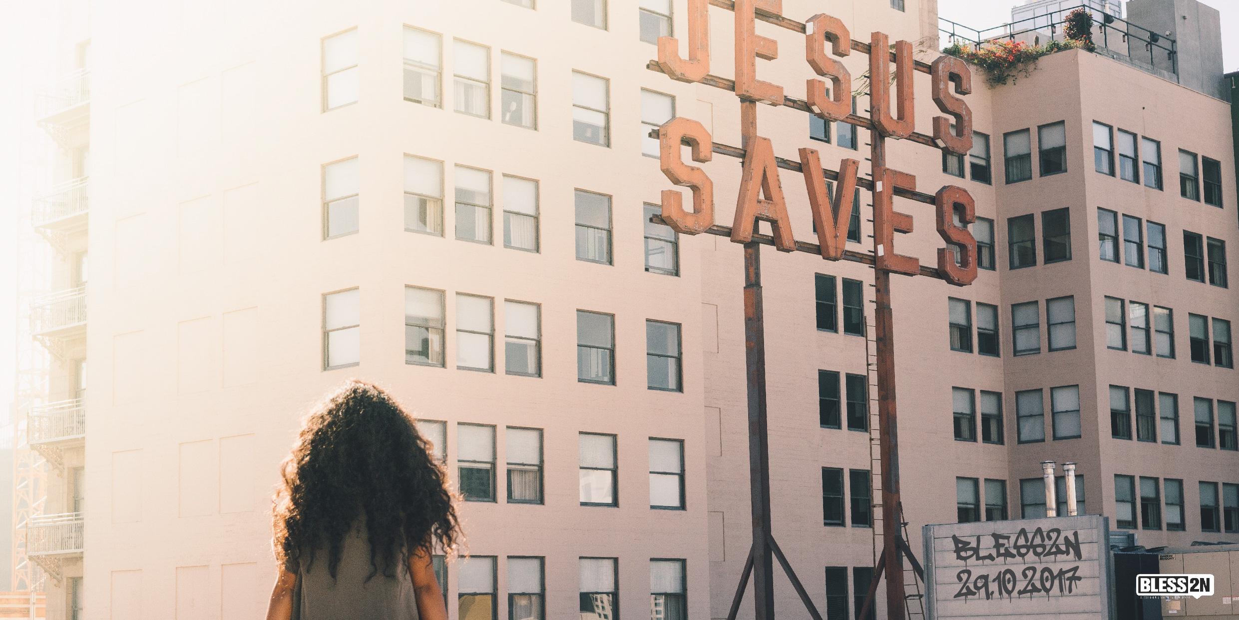 JESUS SAVES – Geru Furrer