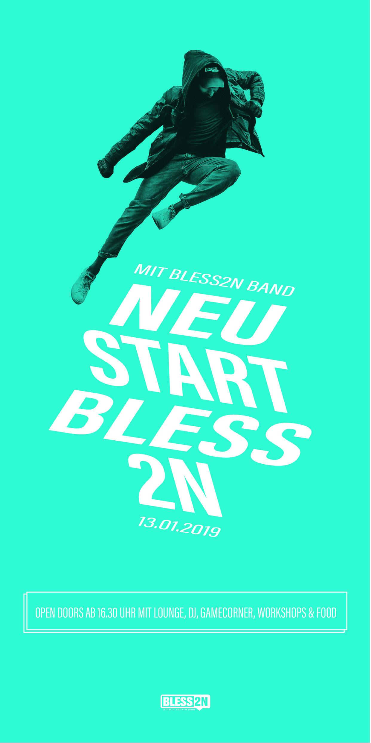 Bless2n Neustart